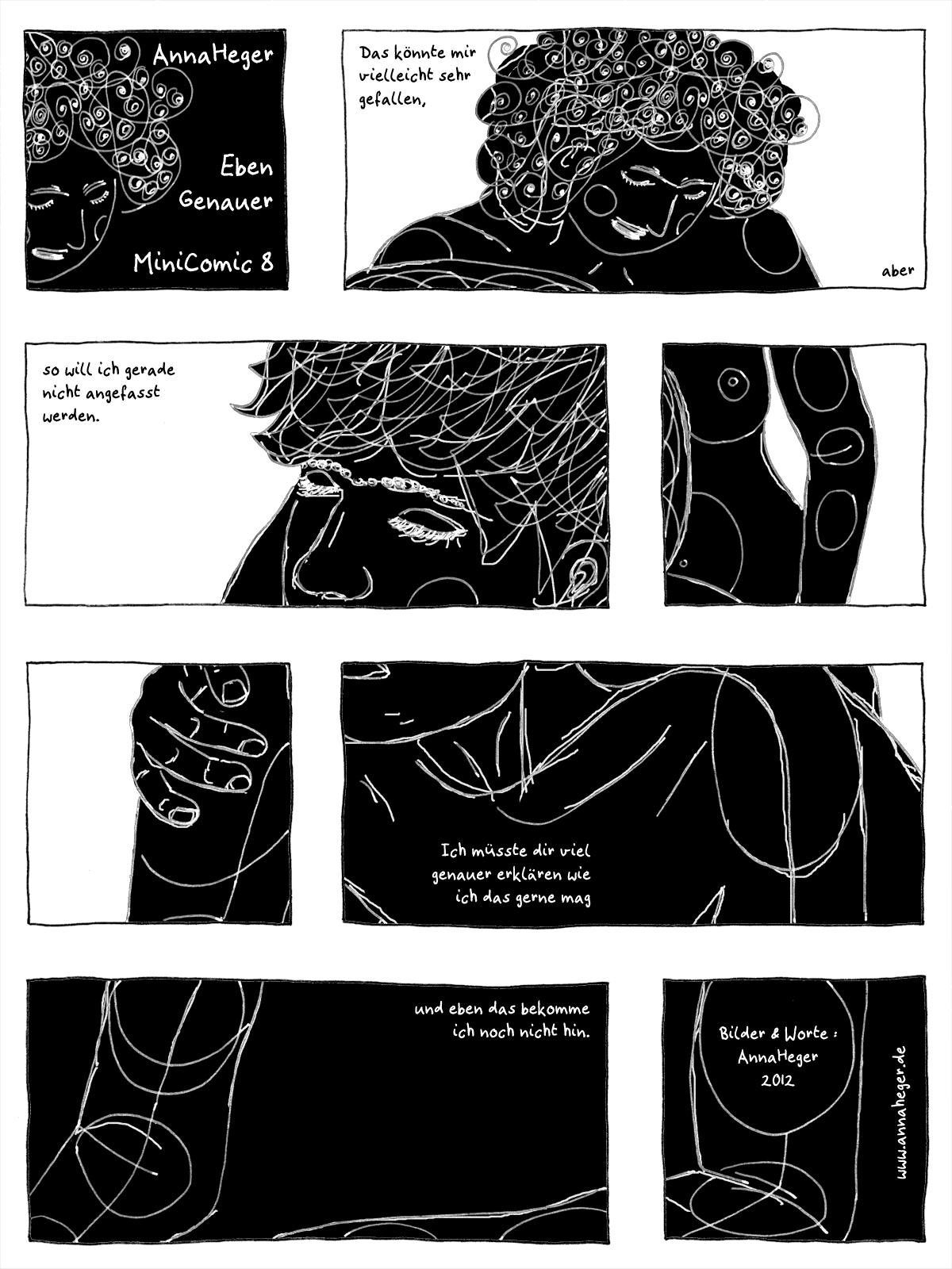 Minicomic 5: Eben genauer, das ganze Comic wird im folgenden in reinen Text transkribiert