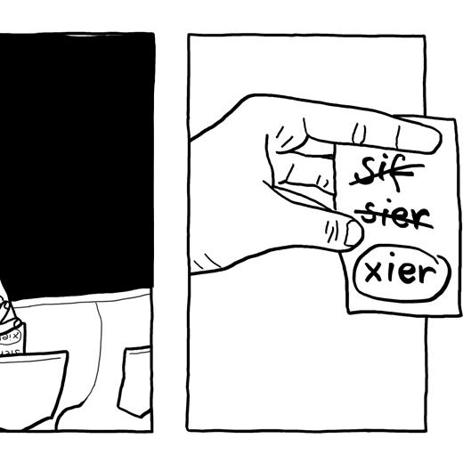 Teaser ComicZine : Xier packt xiesen Koffer