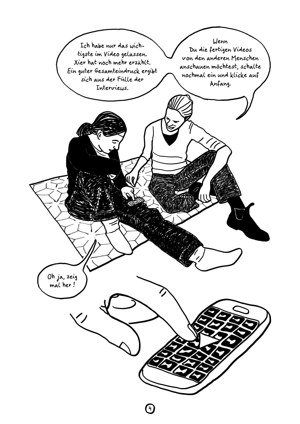 Comiczine Unterdruckarchiv, das ganze Comic wird im folgenden in reinen Text transkribiert