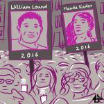 digitales Comic, mehrfarbiger Ausschnitt