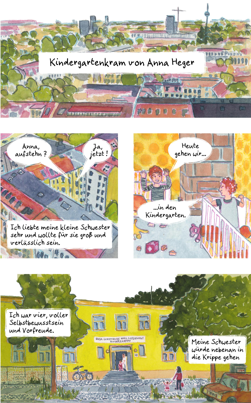 Comic Kindergartenkram, das ganze Comic wird im folgenden in reinen Text transkribiert