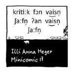 Link zum Minicomic 17 Weisse Schafe IPA Umschrift